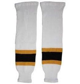 """CCM Hockey CCMS100P KNTSCK BOS YT 18"""" WHITE"""