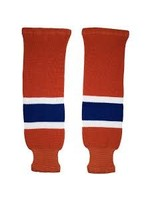 """CCM Hockey CCM SOCKS S100P EDM JR 20""""ORANGE OILER"""
