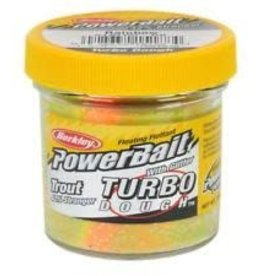 Berkley Berkley STBTDG-RB PowerBait Glitter Turbo Dough Rainbow 1.75oz Jar