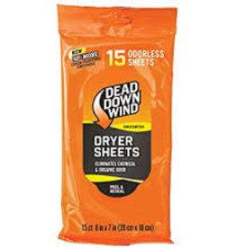 Dead Down Wind Dead Down Wind 1113 ScentPrevent Dryer Sheets