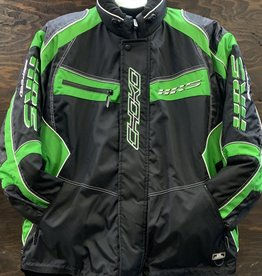 CHOKO DESIGN CHOKO JACKET MENS HOT RIDER GREEN/BLACK XXL