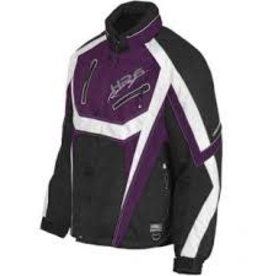 CHOKO DESIGN CHOKO JACKET WOMENS HOT RIDER PURPLE/WHITE/BLACK L