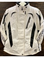 CHOKO DESIGN CHOKO JACKET WOMENS PRO RACING WHITE/BLACK M