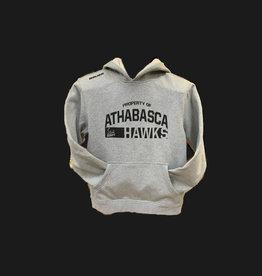 BAUER HAWK BAUER TEAM HOODY YTH- HGR  PROPERTY OF ATHABASCA