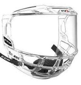 CCM Hockey (USA) CCM FV1 FULL VISOR SR Clear OSFA