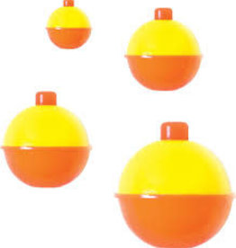 Eagle Claw Eagle Claw 07022-004 Snap-on Float ORANGE/YELLOW