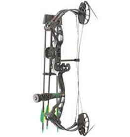 "PSE PSE MINIBURNER BOW RTS KIT 50 LBS 25"" BLACK #1612VS SER# 23711342529"