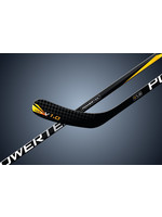 POWERTEK HOCKEY POWERTEK V1.0 TEK HOCKEY STICK FLEX 30 TYKES LH S YELLOW- 38