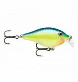 "RAPALA RAPALA 2"", 5/16 oz, Floating Rapala SCRC05BB Scatter Rap Crank"