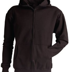 KING FASHION KING FASHION ZIP UP SWEATER BLACK Y L