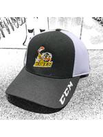 CCM Hockey HAWK CCM MESH CAP  BLK/WHITE