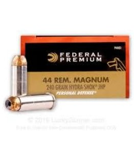 FEDERAL FEDERAL 44 REM MAG 240 GRAIN HYDRA-SHOK JHP