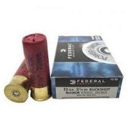 FEDERAL FEDERAL F127-000 POWER-SHOK SHOTGUN AMMO 12GA 8 PELLETS 2 3/4 IN
