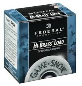 FEDERAL FEDERAL H204-4 GAME SHOK UPLAND BRASS 20 GA 2 3/4IN