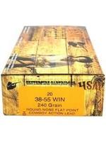 HSM HSM 38 55 WIN 240 GRAIN ROUND NOSE FLAT POINT        20/25