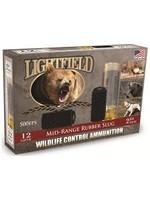 """Lightfield LIGHTFIELD 12 GAUGE 2 3/4"""" Wildlife Control Mid-Range Rubber Lug Slugs"""