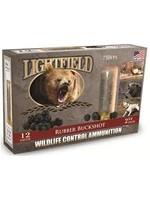 "Lightfield Lightfield RUBBER BUCK SHOT -12  GAUGE 2 3/4"" Wildlife Control"