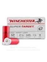 """WINCHESTER WINCHESTER 12 GAUGE 2 3/4"""" 1 1/8OZ 8 SHOT LIGHT TARGET LOAD"""