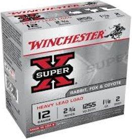 "WINCHESTER WINCHESTER AMMO 12 GAUGE 2 3/4"" 1 1/8 4 SHOT"