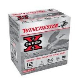 "WINCHESTER WINCHESTER AMMO 12GA 3"" 1550 BB WEX123BB"