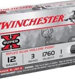 WINCHESTER WINCHESTER SLUG 12G SUPX 3 IN 1OZ