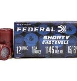 "FEDERAL FEDERAL 12GA SHORTY SHOTSHELL  1 3/4"" 8 SHOT"