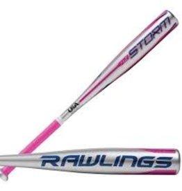 RAWLINGS RAWLINGS STORM T BALL BAT ALLOY -12