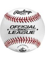 RAWLINGS RAWLINGS  Official Baseball of Baseball Canada White, 9  65 CC
