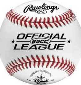 RAWLINGS RAWLINGS  Official Baseball of Baseball Canada White, 9  65 CC
