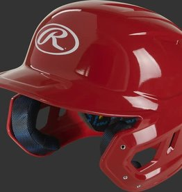 RAWLINGS RAWLINGS MACH GLOSS BATTING HELMET ALPHA XL RED