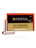 FEDERAL FEDERAL 357 MAG 158 GRAIN HYDRA-SHOK JHP