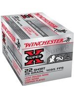 WINCHESTER WINCHESTER X22S SUPER-X RIMFIRE AMMO 22 SHORT LRN