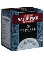 FEDERAL FEDERAL AMMUNITION CHAMPION 525 RND VALUE PACK .22 LONG RIFLE