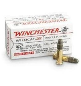WINCHESTER WINCHESTER WILDCAT 22 LONG RIFLE 40 GRAIN 50/BX