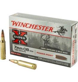 WINCHESTER WINCHESTER X 7MM 08 REM 140 GRAIN POWERPOINT