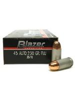 Blazer Ammunition CCI BLAZER 45 AUTO 230 GR FMJ ALUM