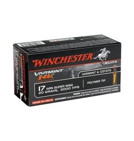 WINCHESTER WINCHESTER 17 WIN SUP MAG 25 GRAIN 2600 FPS VARMINT HE