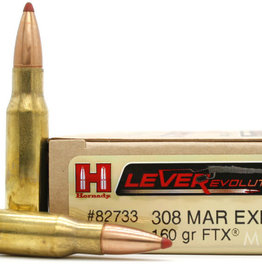 HORNADY HORNADY 308 MAR EXP 160 GRAIN FTX LEVEREVOLUTION