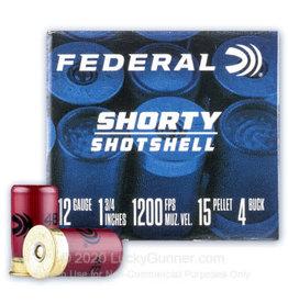 """FEDERAL FEDERAL 12 GA 1 3/4"""" 1200 FPS SHORTY SHOTSHELL"""