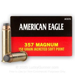 FEDERAL FEDERAL AMERICAN EAGLE AMEG 357MAG 158 JSP 50