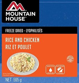 MOUNTAIN HOUSE MOUNTAIN HOUSE FREEZE DRIED RICE AND CHICKEN