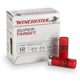 "WINCHESTER WINCHESTER SUPER-TARGET 12 GA 2 3/4"" 7 1/2 SHOT"