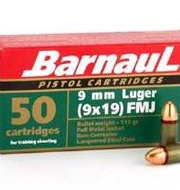 BARNAUL BARNAUL 9 MM  LUGER 115GR FMJ