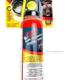 BUSHWACKER BACKPACK AND SUPPY COUNTER ASSAULT DEAR SPRAY 290 GRAMS