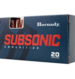 HORNADY HORNADY SUBSONIC 30 30 WIN 175GR SUB-X