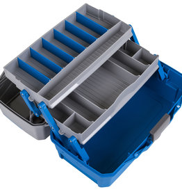 Flambeau FLAMBEAU 2-TRAY HARD TACKLE BOX-BLUE
