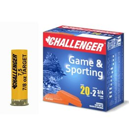 CHALLENGER Challenger Ammo 20GA 2 3/4 SHOTSHELL 7/8 OZ