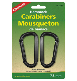 COGHLAN'S COGHLAN'S HAMMOCK CARABINERS 7.8MM (2)