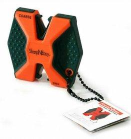 AccuSharp SHARP N EASY Sharpener Blaze Orange Carded Two Step