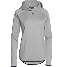 UNDER ARMOUR UNDER ARMOUR WOMEN'S DOUBLE THREAT HOODIE GREY